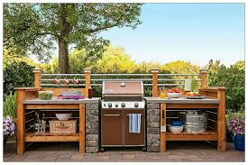 grill station outdoor cooking snacks cost to build outdoor kitchen