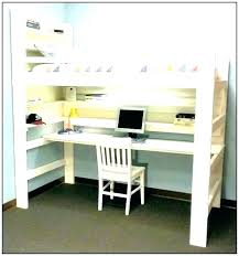 Full Size Loft Beds With Desk Full Size Desk Bed Full Size Bunk Beds With  Desk