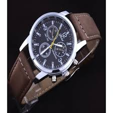 sports watches leather strap quartz fashion business watch men sports watches leather strap quartz fashion business watch