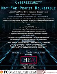 cybersecurity not for profit round table greater toms river chamber of commerce