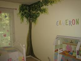 Small Picture adorable wall painting design for kids bedroom with soft green