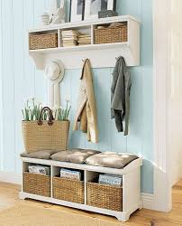 Entryway Coat Rack With Storage