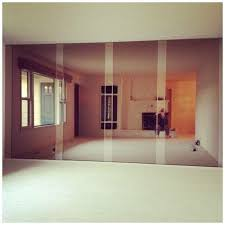 removing a mirror wall mirror wall
