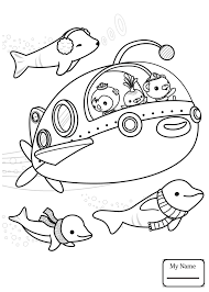 cartoons Octonauts off to Adventure! octonauts coloring pages for ...