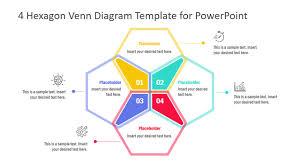 Venn Diagram Pictures 4 Hexagon Venn Diagram Powerpoint Template