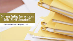Software Documantation Software Testing Documentation Guide Why Its Important