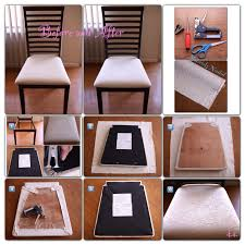 reupholstering a dining chair. Reupholstered Dining Chair...this Seems Easy Enough Reupholstering A Chair N