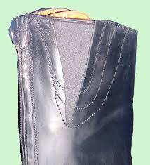 horseridng boots calf elastic