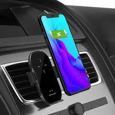 A7 akıllı sensör araba kablosuz şarj tutucu 10W basit hızlı kablosuz şarj  GPS kızılötesi indüksiyon desteği 360 rotasyon|Cep Telefonu Tutucuları ve  Standları