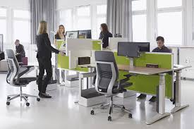 Inspiration office furniture Scandinavian But One Thing Is For Sure They Are Likely To Be Around For While As Businesses Struggle To Balance The Tension Between The Need For Immediate Pinterest Inspiration Office Open Plan Offices Are Like Marmite Sa Décor