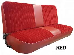 1973 79 f series ford truck vinyl cloth bench seat cover 2inch