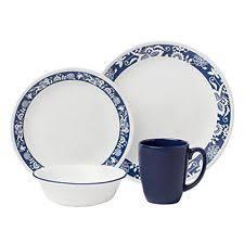 corelle dinner set ebay australia. corelle livingware 16-piece dinnerware set true blue service for 4 made in the dinner ebay australia r