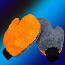 Car clean Latest New Practical double coral fleece gloves for ... - Vova