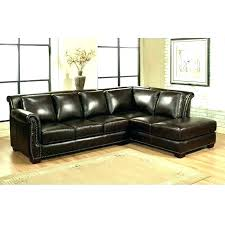 microfiber leather couch sectional sofa with chaise lounge brown impressive furniture leathe