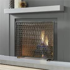 14 modern fireplace screens for every budget annual guide 2017