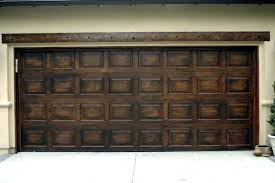 how to paint a garage door to look like wood painted metal garage doors appearance of