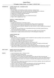 Secretary Resume Sample Admin Secretary Resume Samples Velvet Jobs 94
