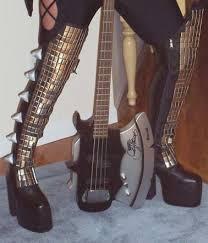 gene simmons kiss boots. gene simmons love gun boots for kiss costume gene simmons boots s