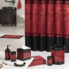 asian decor accessories bathroom shower curtainsbathroom