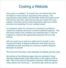 Web Design Proposal Sample Application Template Pdf Static Website ...