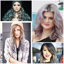 Best Hair Color Combinations For Grey