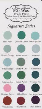 Miss Lillian S Chock Paint Color Chart 37 Best Lillians No Wax Chock Paint Images Painted