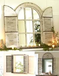shutter decor ideas best window shutters decor ideas on shutter wall decor ideas