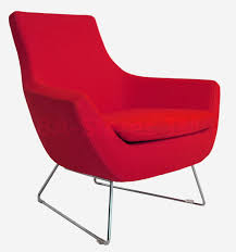 Modern Red Chair  PeugennetContemporary Red Chair