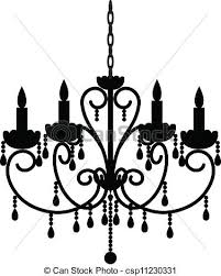 antique chandelier csp11230331