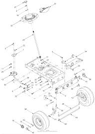 Mtd 13an662g729 2004 parts diagram for axle front steering rh jackssmallengines