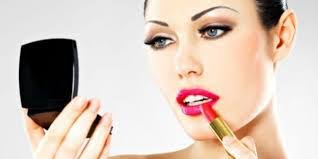 to prevent sliding never put more than one coat of lipstick it is a much better idea to check it more often and reapply it occasionally