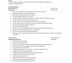 Resume Objective Account Manager Accounts Payable Resume Samples Luxury Accountsable Sample Resume 21