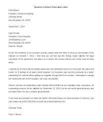 Employment Separation Letter Template Employee Severance
