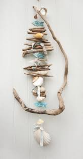 Twisted Driftwood Hanging Coastal Decor