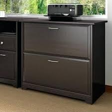 Bush Cabot 2 Drawer Lateral File Cabinet In Espresso Oak Wooden File