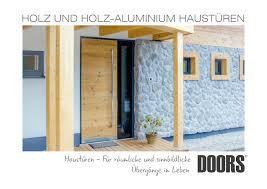 Holz Und Holz Aluminium Haustüren By Josef Fenster Türen Issuu