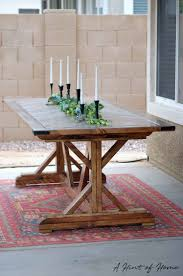 ana white farmhouse bench plans with ana white diy outdoor dining table diy projects