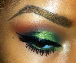 lavish green smoky eye makeup tutorial