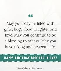 Quotes About Loving Your Brother Impressive Happy Birthday Brother In Law Surprise And Say Happy Birthday