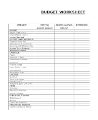 Sample House Budget Househo Et Template Excel Smart Et Recent Yet With Free
