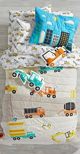 boys bedding construction room and big toddler boy sets little white blanket childrens double teen kids