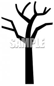 bare apple tree clipart. simple bare tree silhouette clipart apple