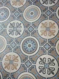 moroccan tile effect vinyl flooring 2m x 3m lino