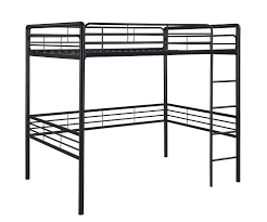 dorel home products full loft bed black amazonca home  kitchen