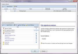 Pornography signature file analysis encase