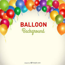 Party Template Party Background Balloons Template Vector Free Download