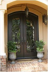 elegant double front doors. Alluring Elegant Double Front Doors With Plain Open Arched On Design