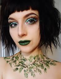 pine tree makeup tutorial