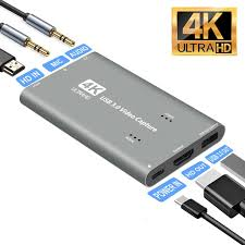 Maybe you would like to learn more about one of these? Capture Card 4k Audio Video Capture Card With Microphone Hdmi Loop Out 1080p 60fps Video Recorder For Gaming Live Streaming Video Conference Fit For Nintendo Switch Ps4 Xbox One Obs Camera Pc