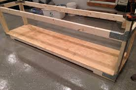 how to build a heavy duty workbench one project closer workbench countertop ideas interior decorating